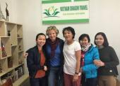 Voyageurs chez agence de voyage Vietnam Dragon Travel (12)