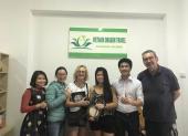 Voyageurs chez agence locale Vietnam Dragon Travel  (30)