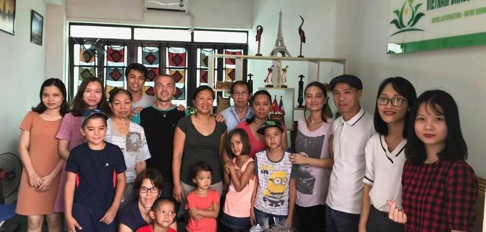 Voyage au Vietnam du Sud au Nord groupe de M Jacques Macquart