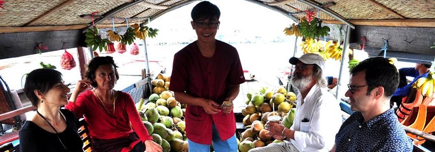Guide francophone Delta Mekong Vietnam