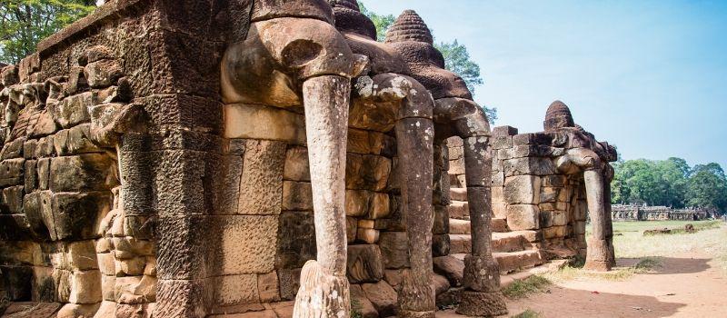 terrasse des elephants cambodge