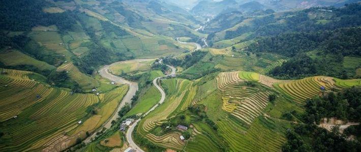 Top 5 endroits pour faire trekking au Vietnam