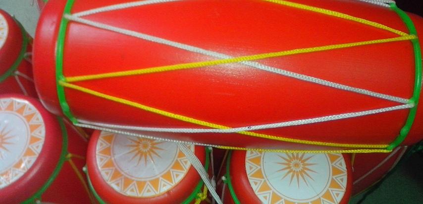 Tambourin enduit de riz (Trong Com)
