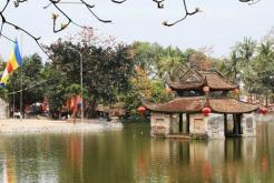 Visite village Van Phuc pagodes Thay et Tay Phuong
