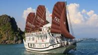 Croisiere en baie Halong sur jonque Aclass Legend Halong 3 jours 2 nuits