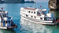 Croisiere en baie Halong sur jonque Bhaya Balcon Halong 2 jours 1 nuit