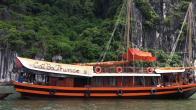 Croisiere en baie Halong sur jonque Cat Ba Prince 2 cabines 2 jours 1 nuit