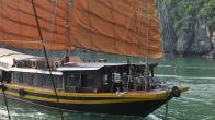 Croisiere en baie Halong sur jonque Cat Ba Prince 2 cabines 3 jours 2 nuits