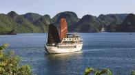 Croisiere en baie Halong sur jonque Galaxy Premium Halong 2 jours 1 nuit