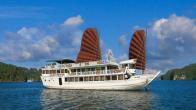 Croisiere en baie Halong sur jonque Galaxy Premium Halong 3 jours 2 nuits