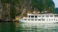 Croisiere en baie Halong sur jonque Halong Legend IV 4 cabines 2 jours 1 nuit