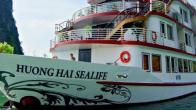 Croisiere en baie Halong sur jonque Huong Hai Ha Long 2 jours 1 nuit