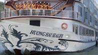 Croisiere en baie Halong sur jonque Huong Hai Sealife Halong 2 jours 1 nuit