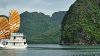 Croisiere en baie Halong sur jonque Paradise Privilège 3 cabines 2 jours 1 nuit