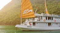 Croisiere en baie Halong sur jonque Paradise Privilège 3 cabines 3 jours 2 nuits
