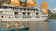 Croisiere en baie Halong sur jonque Paradise Privilège Halong 2 jours 1 nuit
