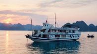 Croisiere en baie Halong sur jonque Peace Charm Ha Long 2 jours 1 nuit