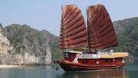 Croisiere en baie Halong sur jonque Quatre saisons 4 cabines 3 jours 2 nuits