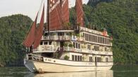 Croisiere en baie Halong sur jonque Victory Star 2 cabines 3 jours 2 nuits