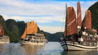 Croisiere en baie Halong sur jonque Victory Star Halong 3 jours 2 nuits