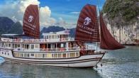Croisiere en baie Halong sur jonque Viola Halong 3 jours 2 nuits