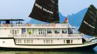Croisiere en baie Halong sur jonque White Dolphin 3 cabines 3 jours 2 nuits