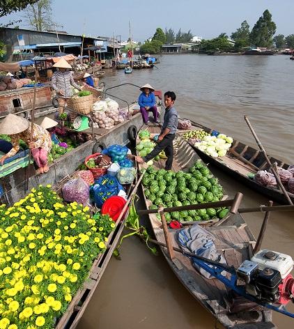 Voyage delta du mekong vietnam