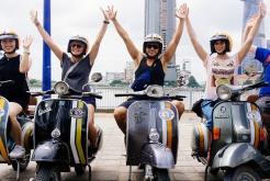 Visite les tunnels de Cu Chi en bateau et la ville de Saigon en vespa  en 1 jour