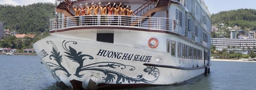 Jonque Huong Hai Sealife Halong