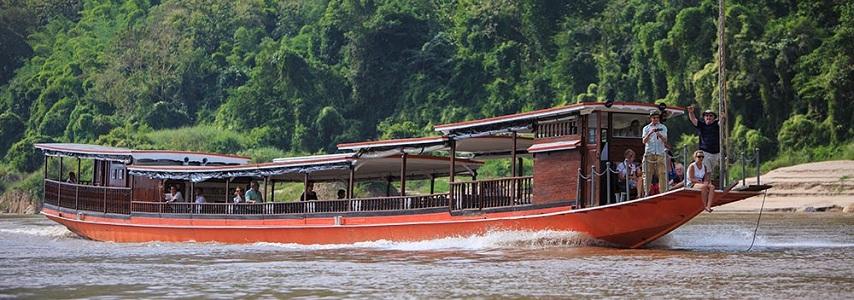 Jonque Luang Say Laos