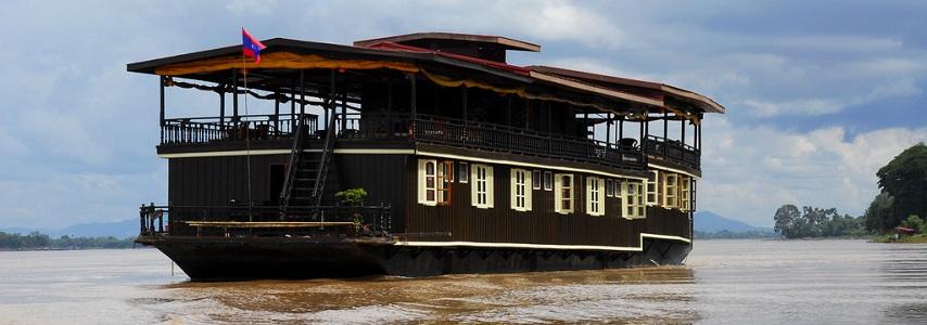 Jonque Vat Phou Laos