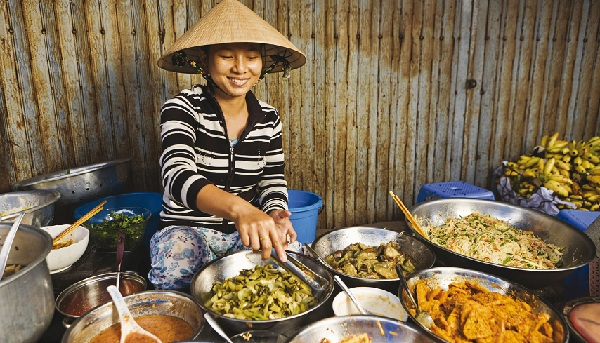 Marchandages au Vietnam