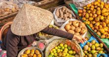 Delta Mékong, corbeilles des fruits tropicales du Vietnam