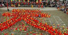 Le kéo chu (composition des idéogrammes à l'aide des mouvements d'ensemble)