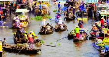 Les marchés flottants Vietnam
