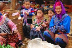 Les marchés montagnards au nord du Vietnam