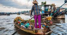 Voiture chauffeur Can tho Delta du mekong